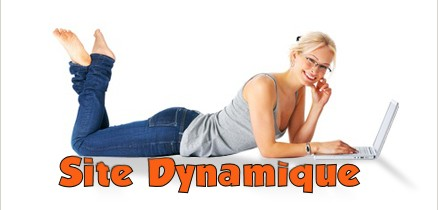 Création site dynamique